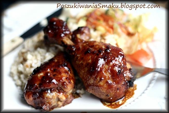 Kurczak w miodzie - pałki kurczaka miękkie i soczyste