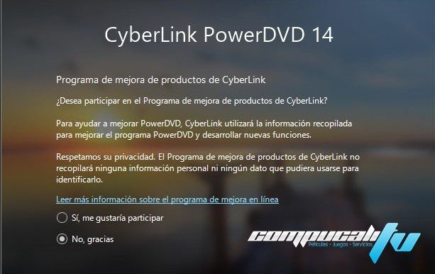 PowerDVD 14.0.4206.58 Ultra Español CyberLink Reproductor HD
