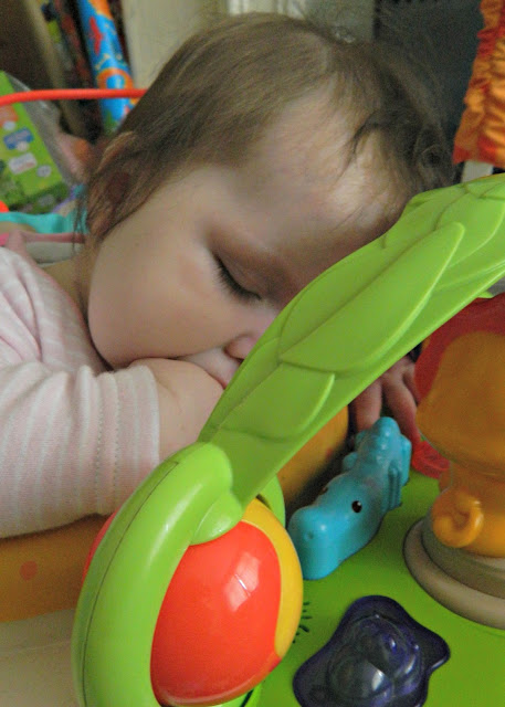 Baby Girl Sleeping Jumperoo Fisher Price