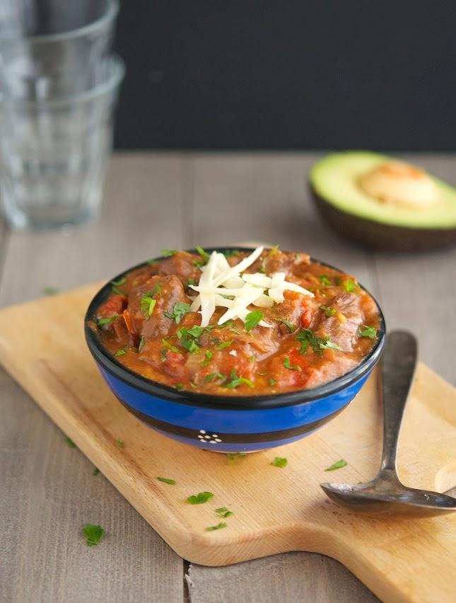 Easy Healthier Crock-Pot Carne Guisada