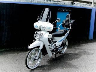 Modifikasi MotorSupra X Terkeren 2014