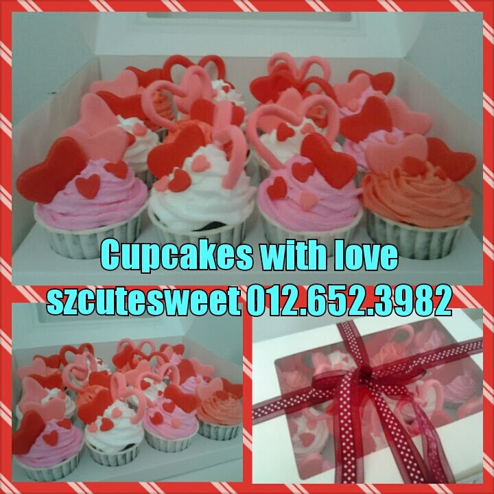 cupcakes with love