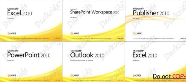 Microsoft Office Professional Plus 2010 SP1 (Español Oficial - 32/64 Bit - Full)