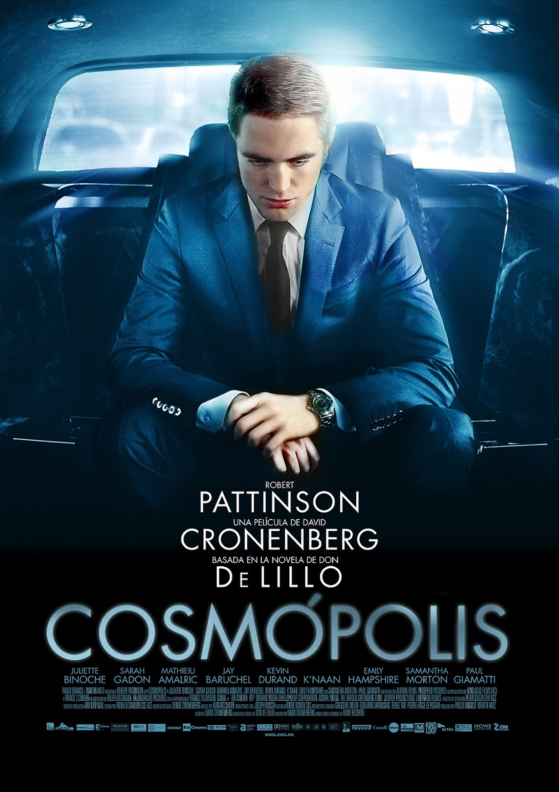 Cosmopolis Trailer HD - YouTube