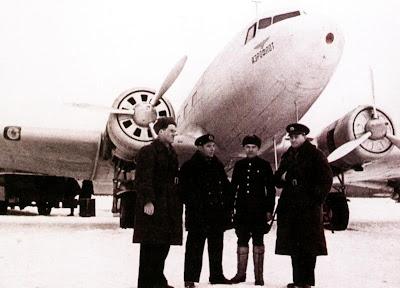 Экипаж «аэрофлотовского» Ли-2