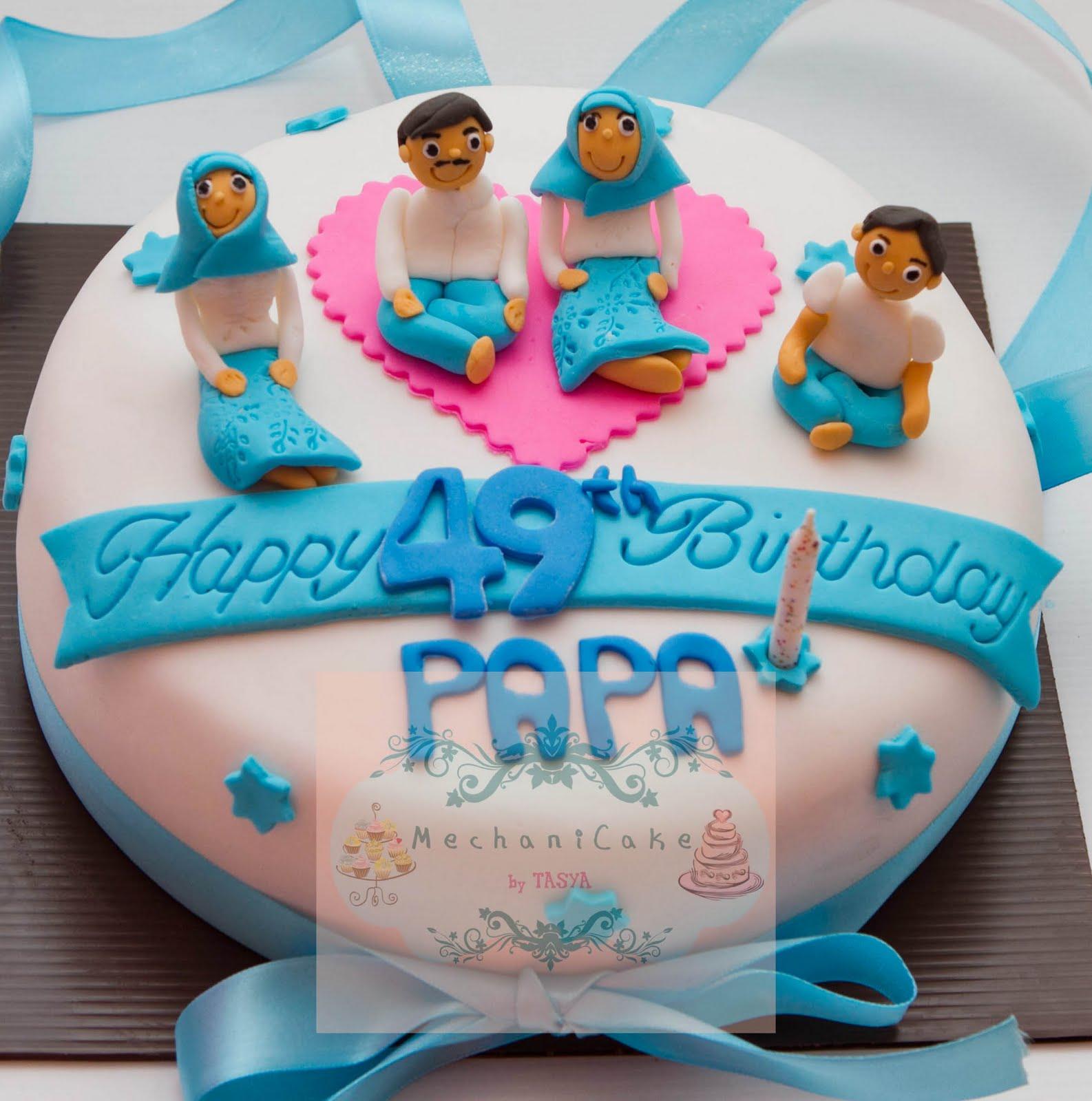 MechaniCake Bday cake for Papa