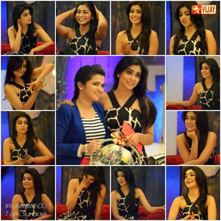 Koffee With DD Shriya Saran 16-03-2014 Full Program Vijay Tv  Watch Online Free Download