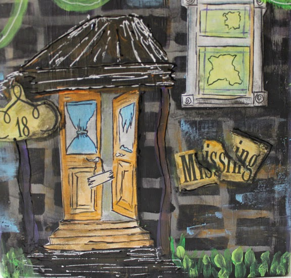 Haunted Places In Las Vegas 2014: My Art Adventures: Haunted House's ...... Finished