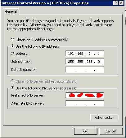 Cara Sharing Koneksi Modem Usb SmartFren Pada Windows Server 2008