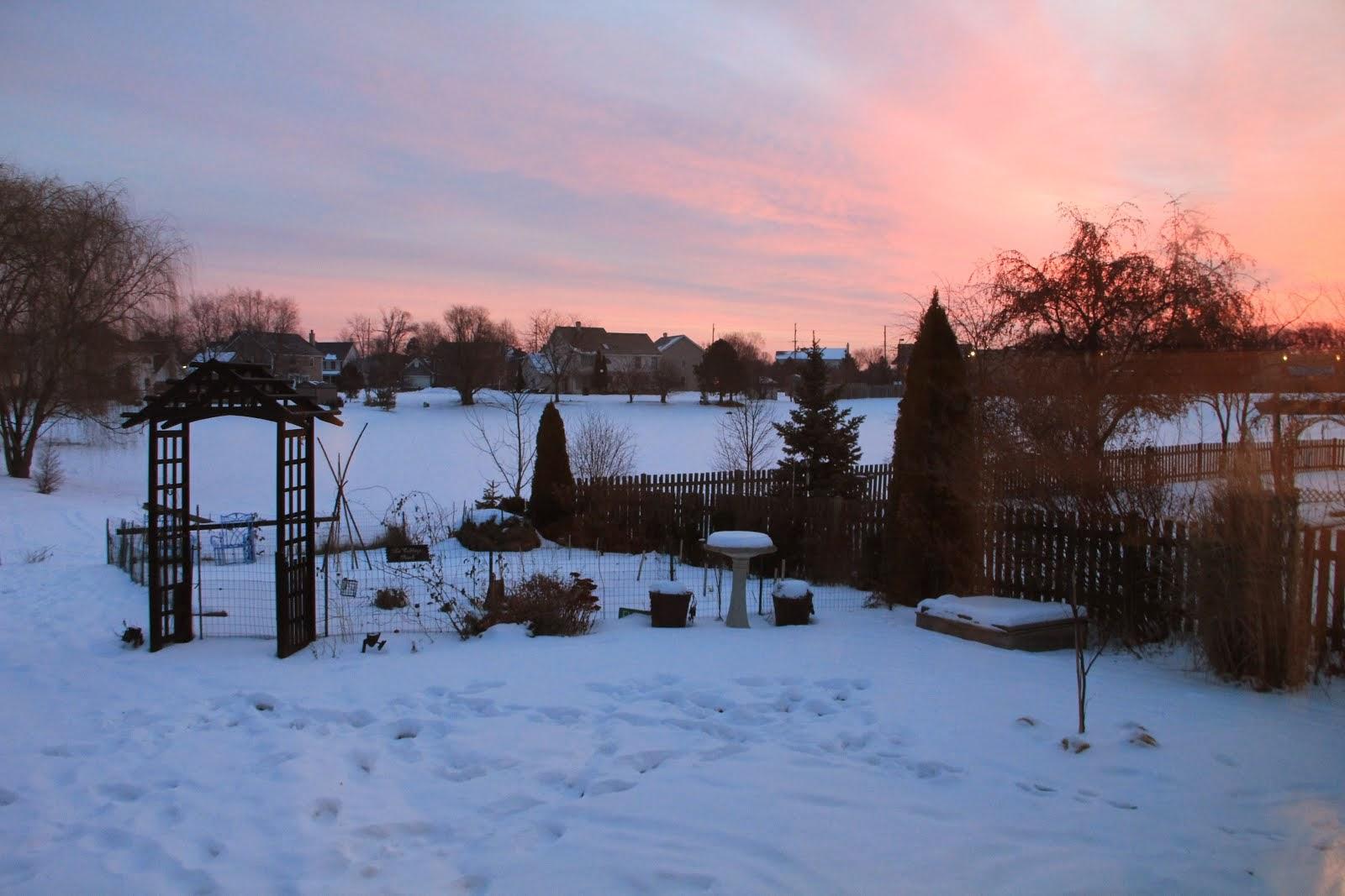 December 2013 Sunrise
