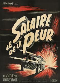 salaire de la peur, salario del miedo,H.G. Clouzot