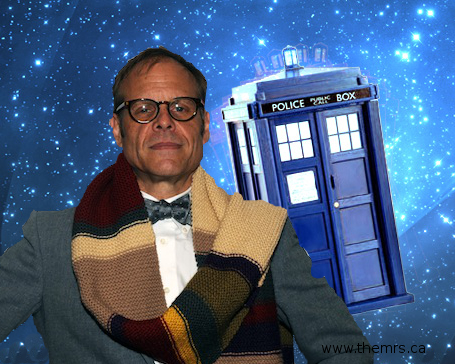 Alton Brown as Dr Who