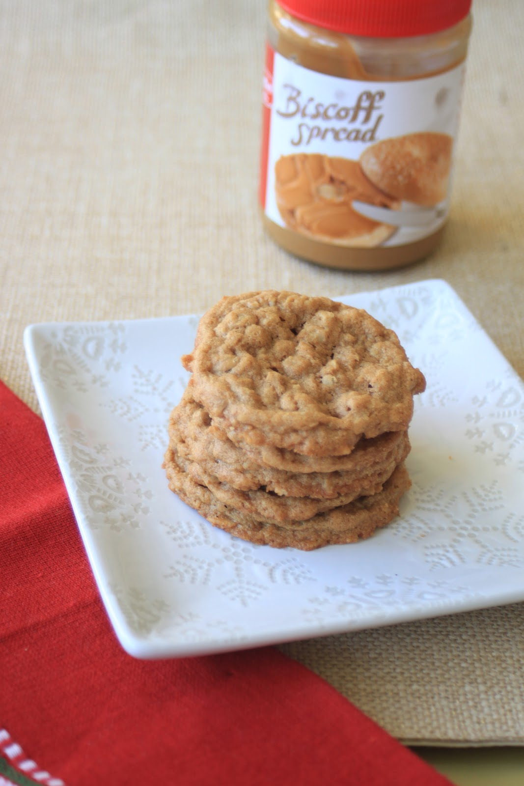 Good Clean Fun: Biscoff Oatmeal Cookies