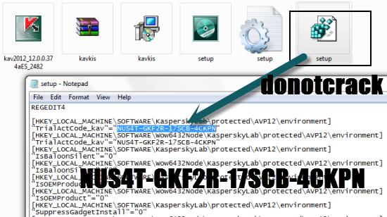 how to delete kaspersky license key