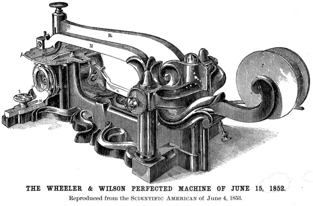 sewing machine inventors