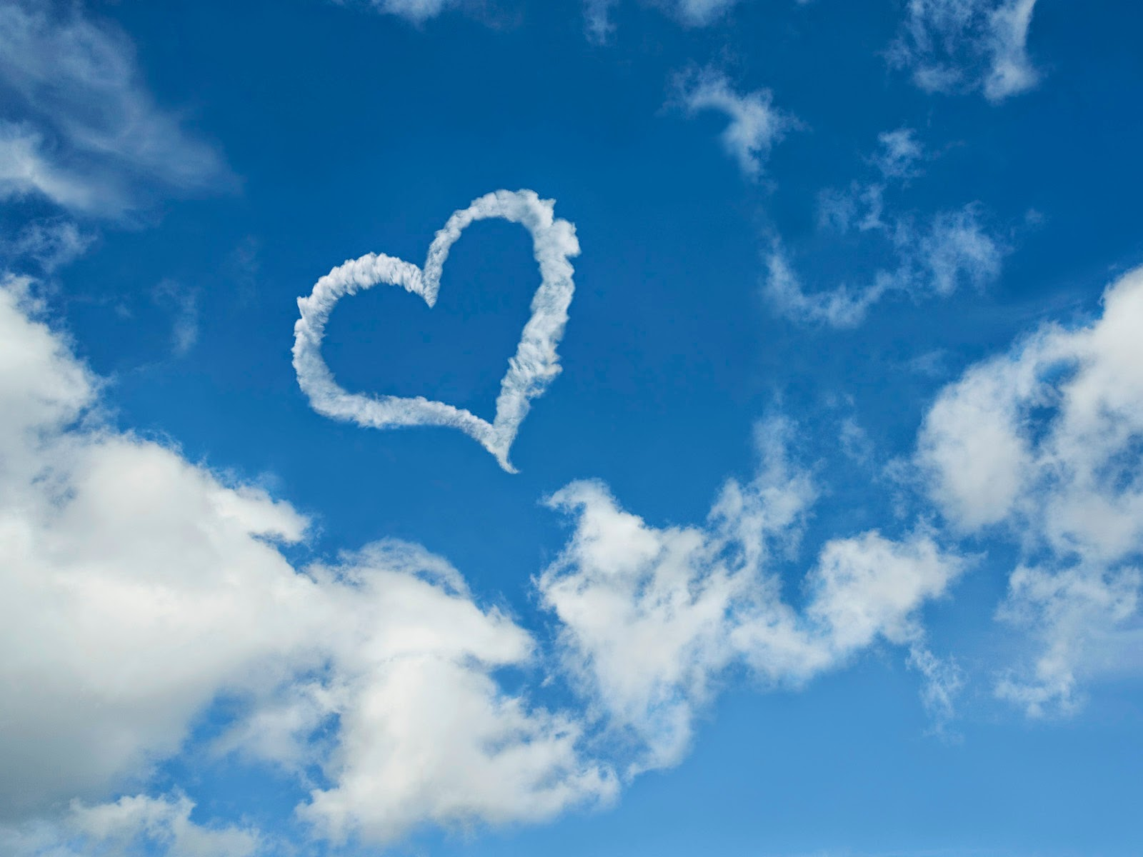 heart wallpapers clouds | wallpapper