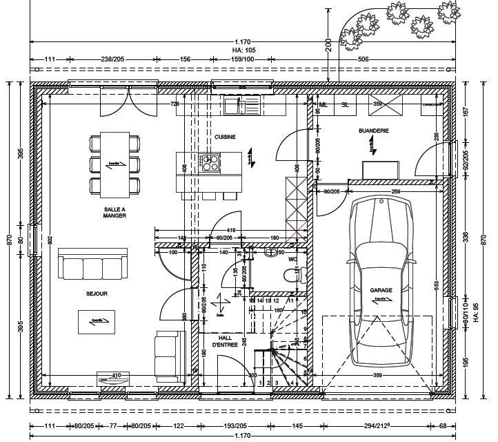 Dehousse dechany notre construction avec maison blavier Realisation de plan de maison