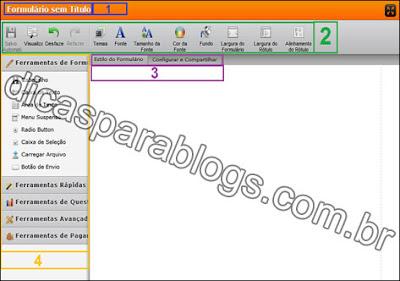 email contato no blogger