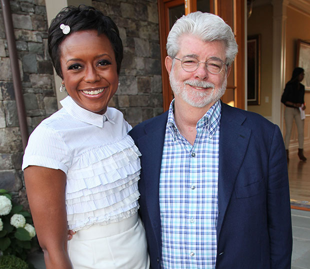 George Lucas And Wife, Mellody Hobson Welcome Baby