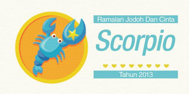 Bintang Scorpio : Ramalan Jodoh Dan Cinta Tahun 2013