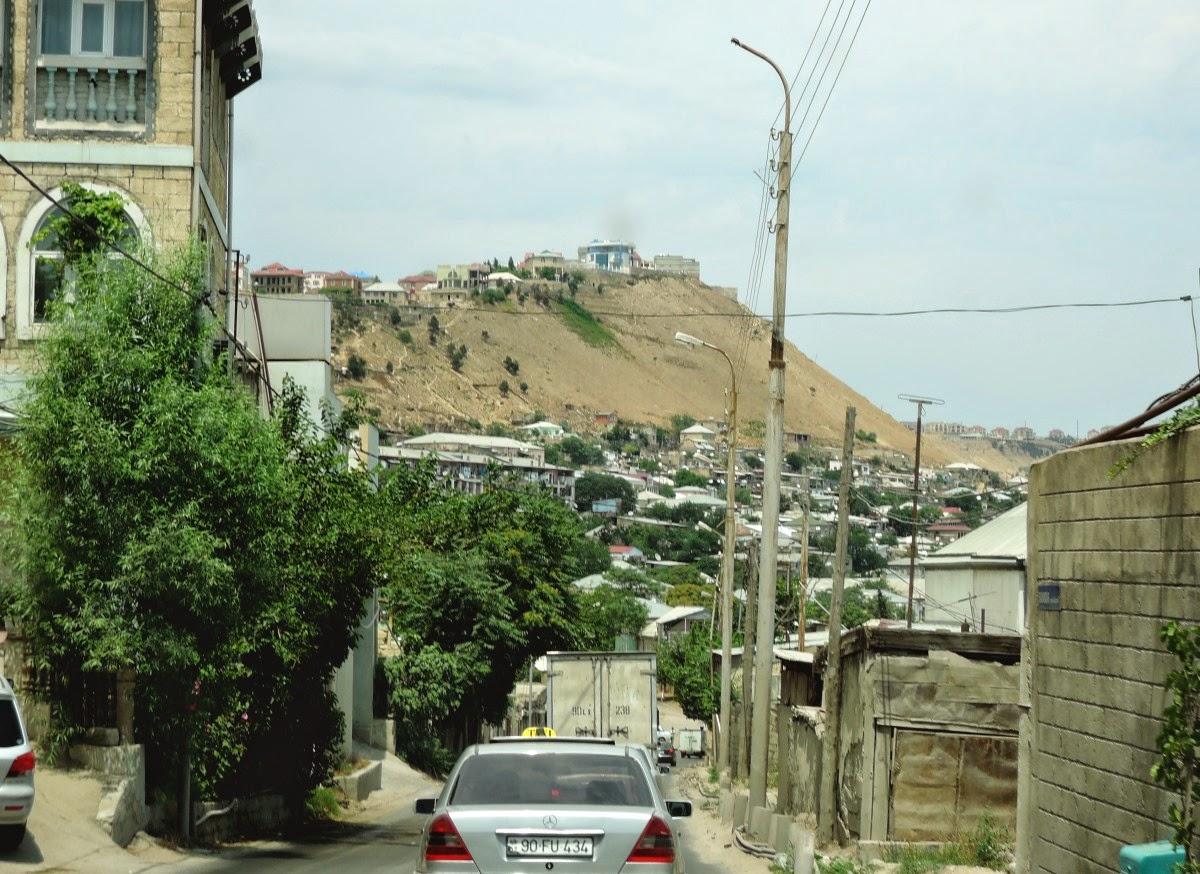 Баку выезд из города