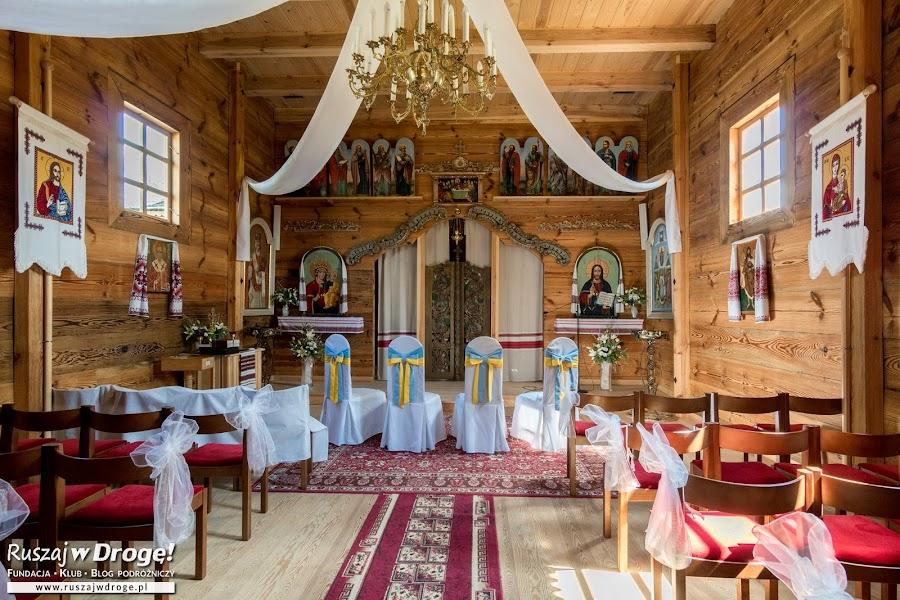 Godkowo - drewniana cerkiew z Podkarpacia