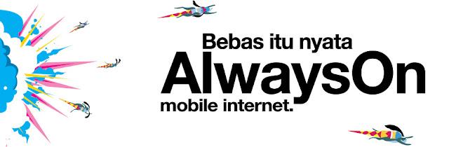 Wujud Kebebasan Internet dengan AlwaysON dan PakeTri