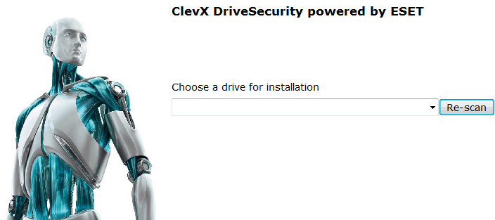 ClevX DriveSecurity