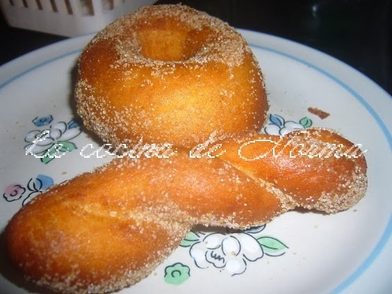 la cocina de norma donas esponjosas con azucar