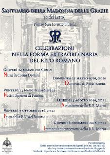 S. Messa V.O. a Pistoia: chiesa di S. Pantaleo e Santuario della Madonna del Letto