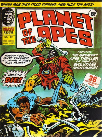 Marvel UK, Planet of the Apes #22, Evolution's Nightmare