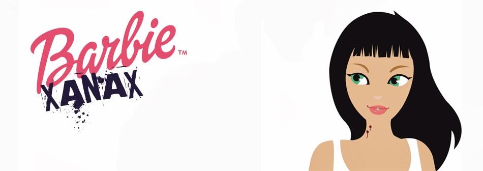 Barbie Xanax Y-Front Piel