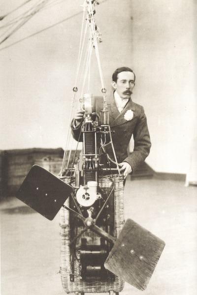 Vida e obra de Santos Dumont na exposição O Poeta Voador