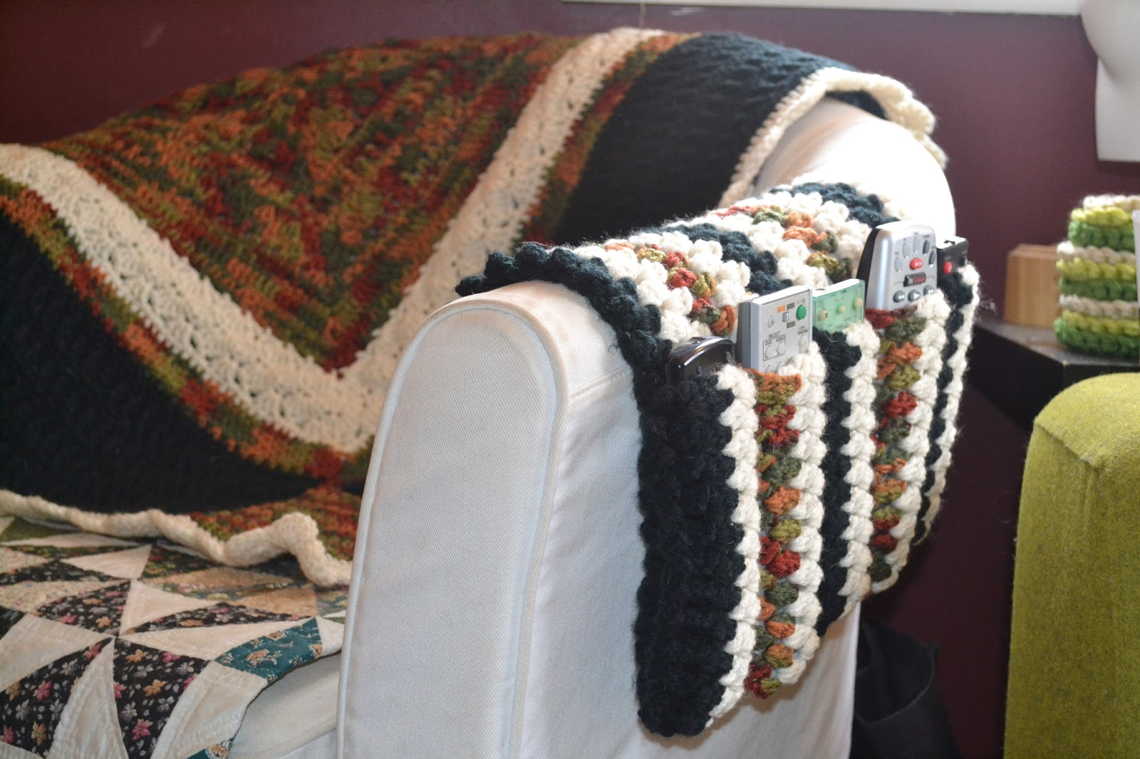 Attractive Crochet Remote Caddy Pattern Picture Collection - Easy ...