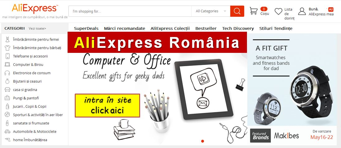 Aliexpress Romania