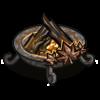 FarmVille Iron Fire Pit - FvLegends.Com