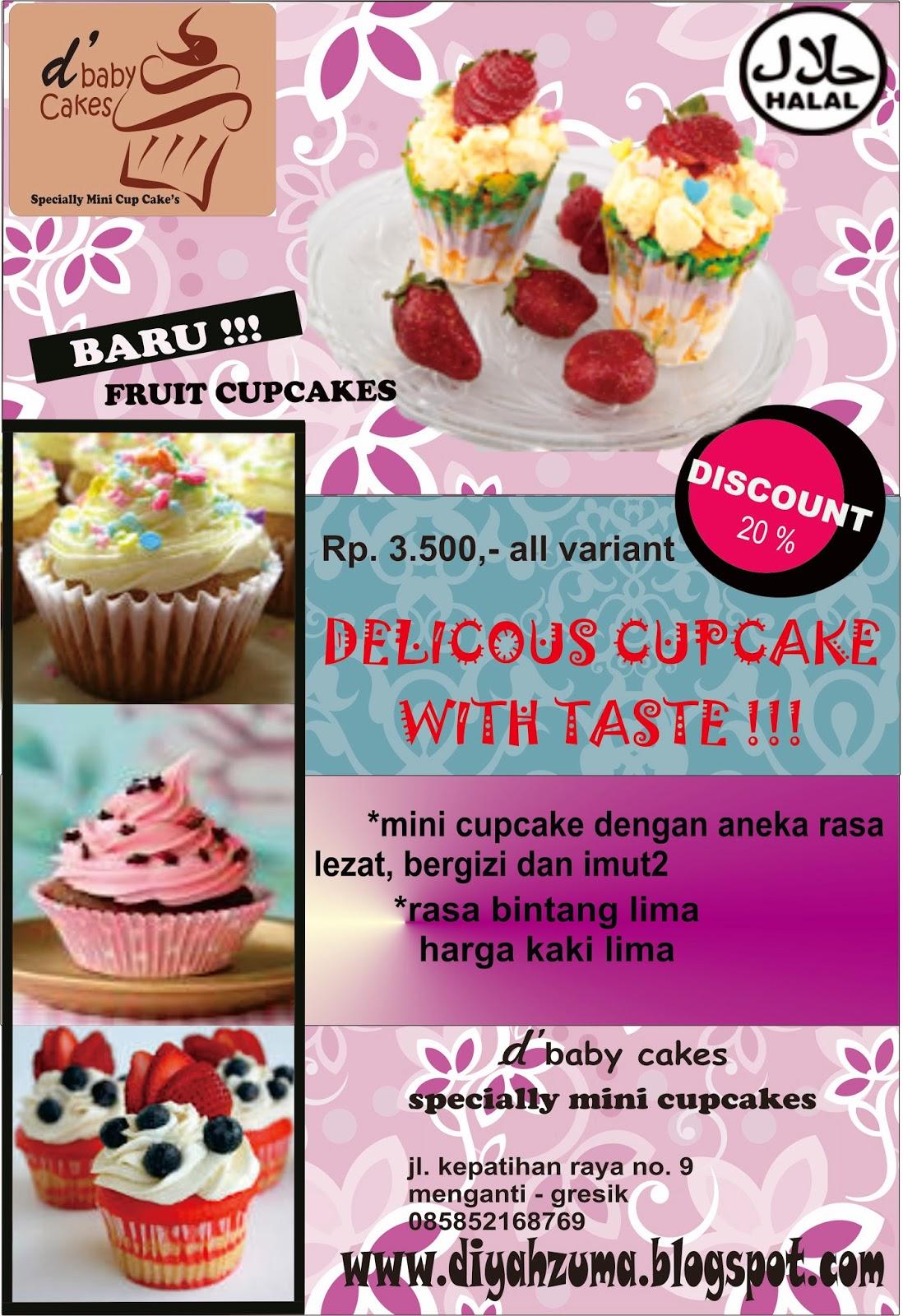 Tempat Cake Imut Brosur D Baby Cupcakes