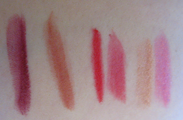 Star Kissed Lipstick Set Swatched