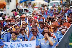 Desfile dos Bacamarteiros em Bonito