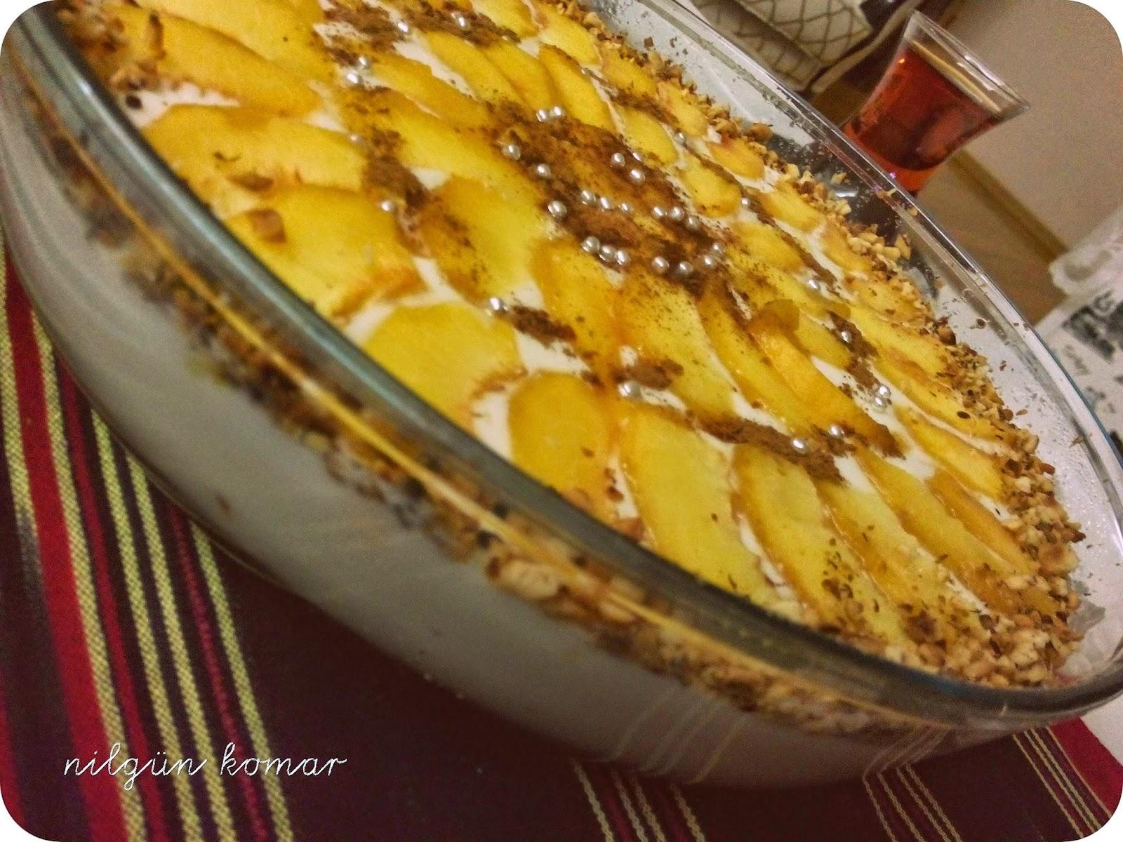 Şeftalili Kolay Pasta Tarifi