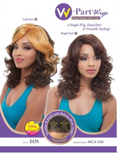 Janet Collection W Dual Part Lace Front Wig Eos