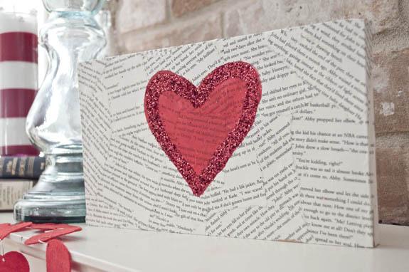 El Yapımı Romantik Duvar Tablosu Adım 9