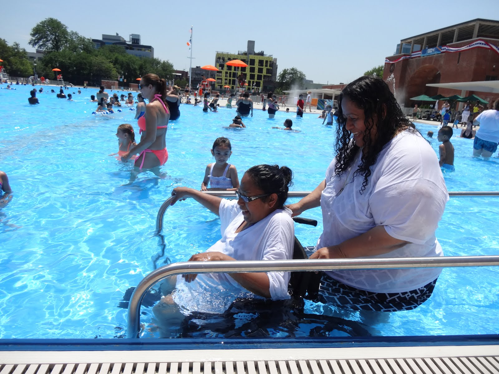 A Walk In The Park Historic Mccarren Park Pool Reopens After 28 Years Of Neglect And Wait