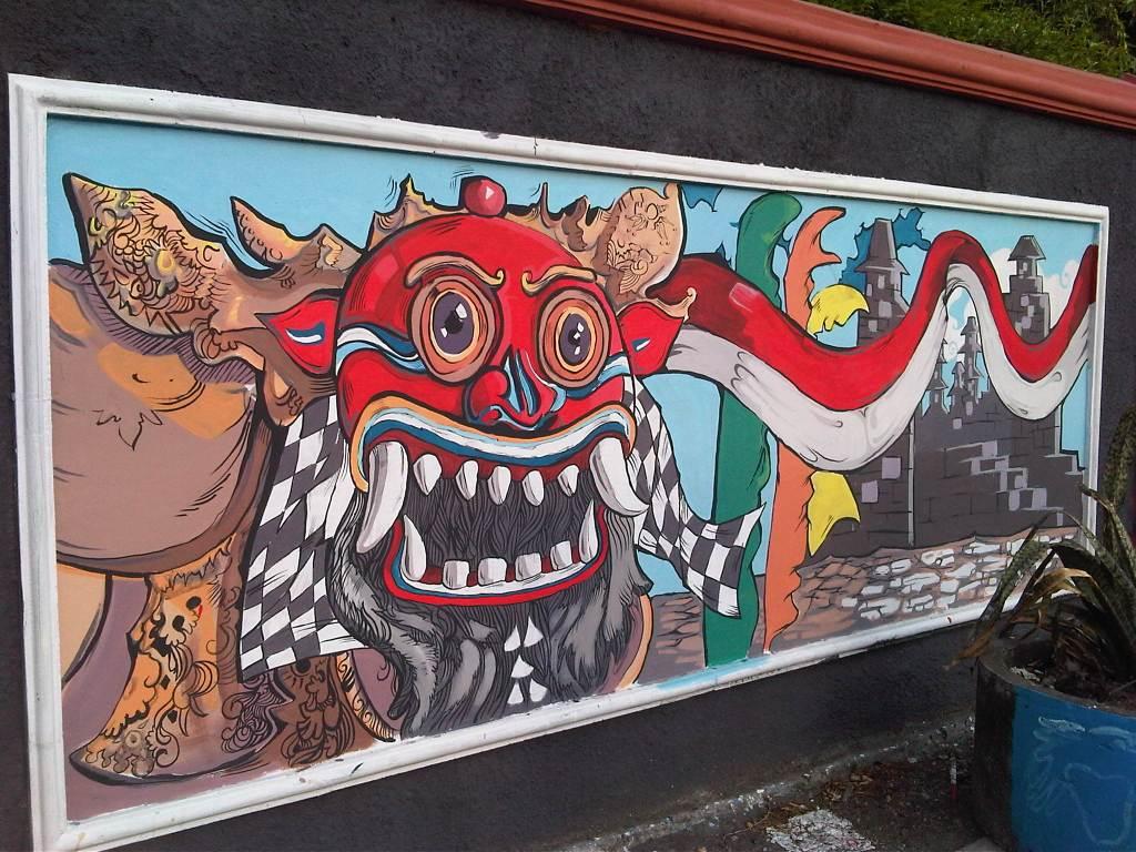 Travelogue jogjakarta kota mural for Mural yogyakarta