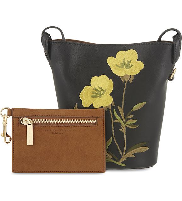 stella mccartney flower bag, stella yellow flower bag,