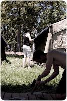 Fixing tents