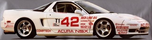 Acura NSX  japoński supercar sportowy samochód kultowy V6 RWD wyścigi racing SCCA