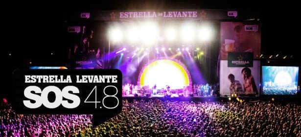 Festival, SOS, 4.8, Concierto, Murcia, Directo, 2014