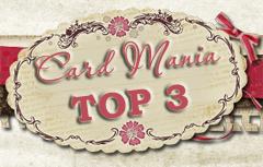 CMC#51 TOP3- Картичка с метална висулка
