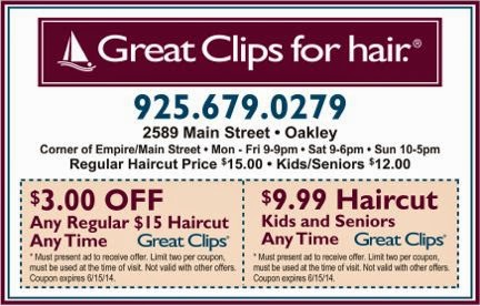Great clips coupons september 2019